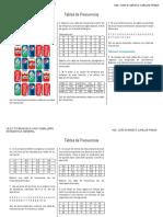 Tablas de Frecuencias Ejercicios Propuestos PDF
