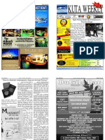 "Kuta Weekly-Edition 203 ""Bali""s Premier Weekly Newspaper"""