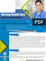 Nursing and Healthcare 2019 Conference