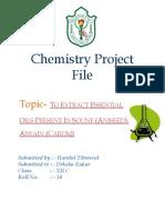Chemistry Project CBSE