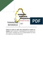 2017 Tdr Mano de Obra Carpinteria de Madera