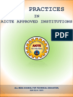 Final Best Practices  in Aicte Approved Institutuions