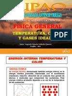 Temperatura, Calor y Gas Ideal
