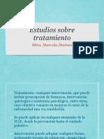 Estudios Sobre Tratamiento.