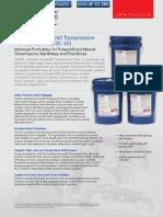 AMSOIL Synthetic Powershift Transmission Fluids CTG CTJ CTL
