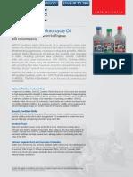 AMSOIL Synthetic Metric Motorycle Oil MCT MCF MFF