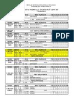 Jadual Ppt t4 & t5 Dan Pat t4 2018