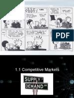1.1 Competitive Markets Demand