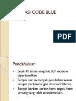 Aktifasi Code Blue