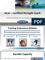 Training Methods for Endurance Sport