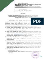 Pengumuman Jadwal Skd Dan Tata Tertib Cpns 2018