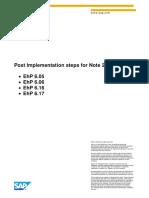 Post Implementation steps for Note 2039647 - 617 - 605.pdf