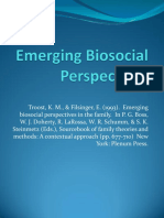 Emerging Biosocial Perspective