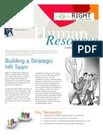 Special Team Building Workshop for the  HR Department