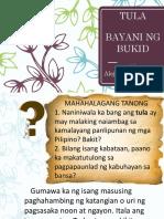 TULA-Bayani Ng Bukid
