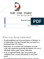 Social Institutions - Class Lecture.pdf