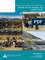 FGS 2018-11-15 Budget2019Consultation Report Web