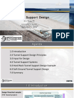 Wang Tunnel Support Design