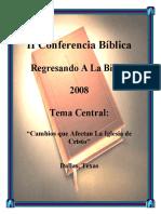 Los Cambios Que Afectan La Iglesia de Cristo - Willie Alvarenga