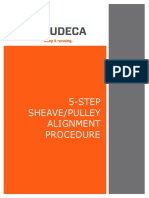 5-Step Sheave Pulley Alignment Procedure