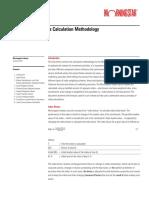 Morningstar Indexes Calculation Methodology