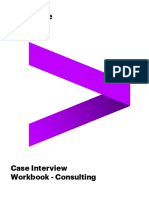 Accenture FY19 Case Workbook One Accenture Consulting