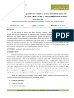 3. Format. Man - Impact of Audit Quality on Firm's Earnings Evidence From Selected Pharmaceutical Firms Listed in Nigeria Stock Market