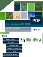 Bentley AreyYouReadyForISO15926 WRA