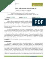 25. Format. Hum -Post Colonial Intruder in m. Mukundan's Radha Radha Mathram an Analysis