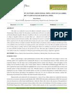 27. Format. Hum - Disease and Mortality Pattern Among Rural Population of Jagadhri, District _1