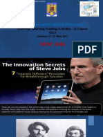 inventions and cultural behaviour steve jobs italy