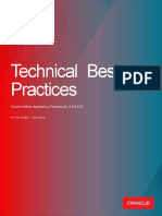 OUAF Technical Best Practices