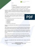Reglamento Del Trabajo Final de Grado FCA 2014