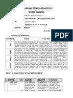 Informe Tecnico Pedagogico (1er Bimestre 2018)