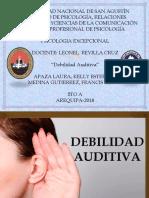 Debilidad Auditiva Final