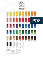 Winton Oil Color Chart