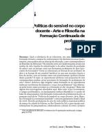 POLITICAS DO SENSÍVEL NO CORPO DOCENTE ....pdf