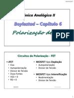 2. CH06 - Polarização do FET.pdf