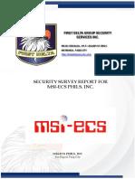 SECURITY SURVEY MSI Pasig Final.PPTX