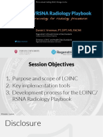 The LOINC/RSNA Radiology Playbook