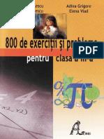 800 de exercitii pentru clasa a III a.pdf