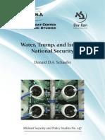 147 Water Trump Israeli National Security Schaefer WEB