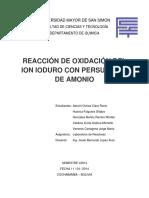 oxidacion con persulfato