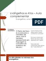 AULA BÔNUS - Evangelhos - Uma História, Muitas Dimensões