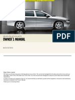 V70 XC70 Owners Manual  FREE PDF DOWNLOAD