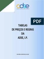 ADSE_Proposta de Nova Tabela de Preços ADSE 2018