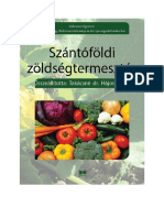Takácsné - Szántóföldi zöldségtermesztés