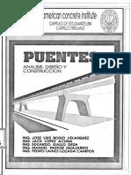 PUENTES Análsis, Diseño y Construcción Jose Luis Bosio Velasquez