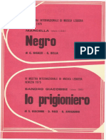 NEGRO - MARCELLA BELLA + IO PRIGIONIERO - SANDRO GIACOBBE