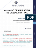 Recurso de Anulacion de Laudo Arbitral Carlos a. Soto Coaguila